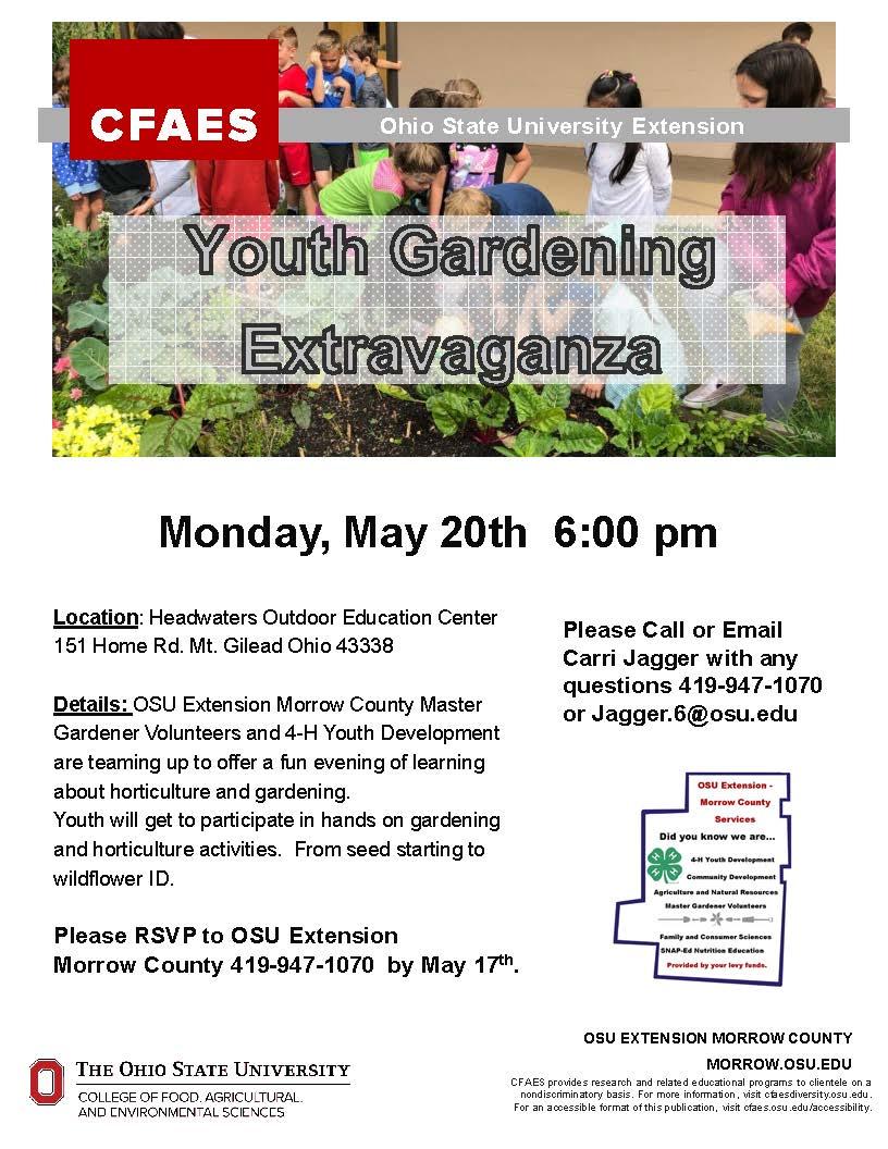 Youth Gardening Extravaganza